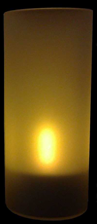 Bougies à LED rechargeables avec son Photophore