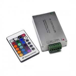Contrôleur RGB télécommande 24 touches Radio fréquence