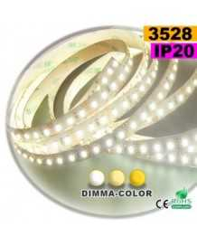 Ruban Led dimma-color 3528 ip20 120leds/m 5m