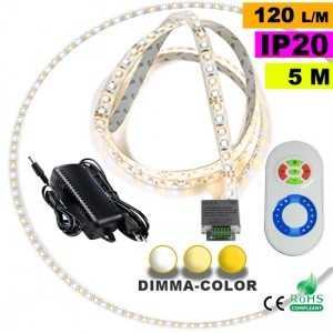 Pack Ruban Led 5m Dimma Color 3528 ip20 120 leds