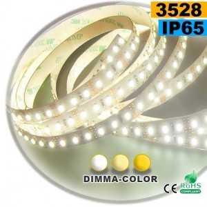 Ruban Led dimma-color 3528 ip65 120leds/m 5m