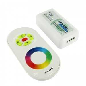 Contrôleur RGB Télécommande tactile RF compact