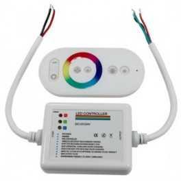 Boitier de contrôle RGB Télécommande tactile RF