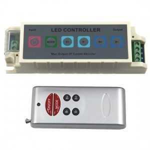 Contrôleur 6 touches RGB télécommande 6 touches RF