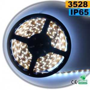 Ruban Led blanc SMD 3528 IP65 60leds/m sur mesure
