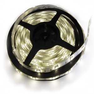 Strip 30 LEDS Blanc rouleau flexible autocollant de 5m