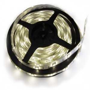 Strip 30 LEDS Blanc rouleau flexible autocollant de 5m