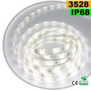 Ruban Led blanc SMD 3528 IP68 30leds/m sur mesure