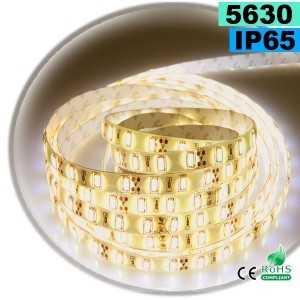 Ruban Led 12 volts blanc Chaud Léger SMD 5630 IP65 60leds/m sur mesure