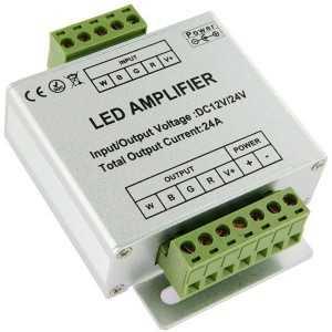 Amplificateur de signal pour rubans LED RGB W