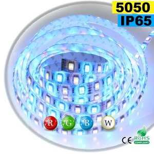 Ruban Led RGB-W IP65 60leds/m SMD 5050 sur mesure
