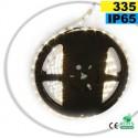 Ruban Led autocollant latérale blanc LEDs-335 IP65 60leds/m sur mesure