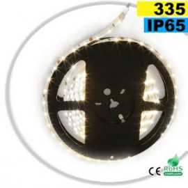 Ruban Led latérale blanc chaud LEDs-335 IP65 60leds/m sur mesure