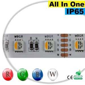 "Ruban LEDs RGB-W IP65 - LED ""All in one"" sur mesure"