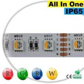"Ruban LEDs RGB-WW IP65 - LED ""All in one"" sur mesure"