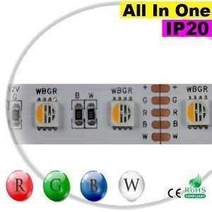 "Ruban LEDs RGB-W IP20 - LED ""All in one"" sur mesure"