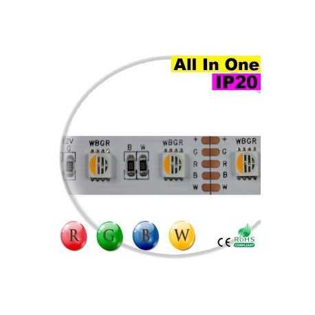 "Ruban LEDs RGB-WW IP20 - LED ""All in one"" sur mesure"