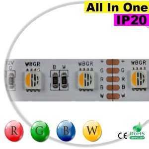 "Ruban LEDs 12V RGB-WW IP20 - LED ""All in one"" sur mesure"