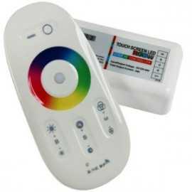 Contrôleur RGB-W Télécommande tactile RF compact