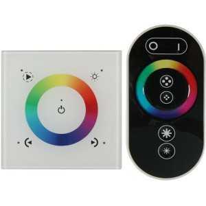 Controleur RGB tactile mural avec télécommande