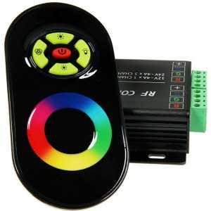Contrôleur 144W RGB audio + Télécommande tactile
